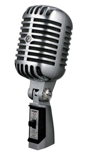 Classic Cardioid Dynamic Microphone - Shure 55SH Series II Dynamic Microphone (the Elvis Microphone)