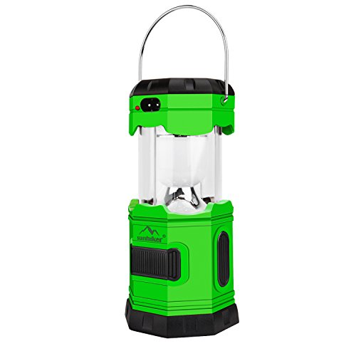 UPC 600736197809, Camping Light Solar Rechargeable Collapsible LED Camping Lantern Flashlight with COMPASS, Portable Water Resistant Outdoor Survival Lamp for Hiking Fishing Hiking Camping Emergency