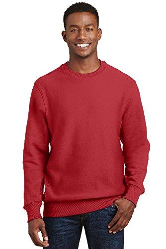 F280 Hoodie Sweatshirt - Sport-Tek 174 Super Heavyweight Crewneck Sweatshirt. F280 2XL Red