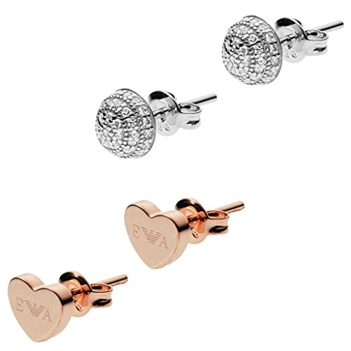 boucles d'oreilles Emporio Armani pour femme Stelle EG3327040 style décontracté cod. EG3327040