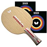 Butterfly Pro-Line Hand Assembled Professional Table Tennis Racket - Choose Your Professional Ping Pong Paddle Combination – Butterfly Table Tennis Blade – Butterfly Table Tennis Rubber – ITTF Approved Tournament Ping Pong Racket