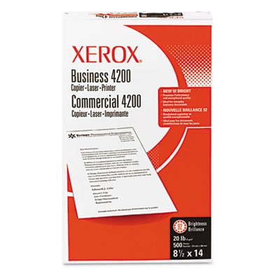 Business 4200 Copy Paper, 92 Brightness, 20lb, 8-1/2 x 14, White, 500 Shts/Rm, Sold as 1 Ream