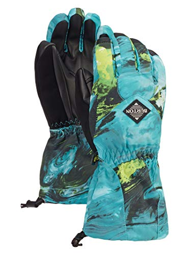 Burton Kids' Insulated, Warm and Waterproof Profile Gloves with Touchscreen, Satellite, Large