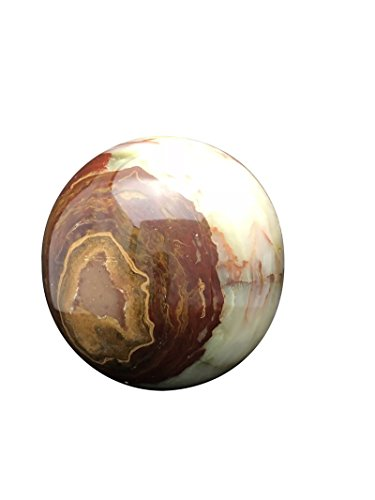 Marble Sphere Urn for Ashes, Cremation Urn, Outside or Inside - Urn Marble Cremation