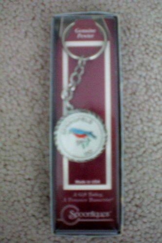 Souvenir Keychain -- Springfield Missouri -- Genuine Pewter