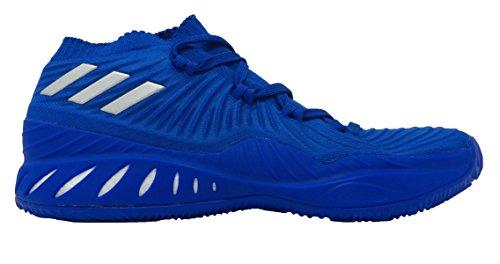 Adidas Crazy Explosive 2017 Primeknit Low Shoe Mens Basketball Blu-argento Metallizzato