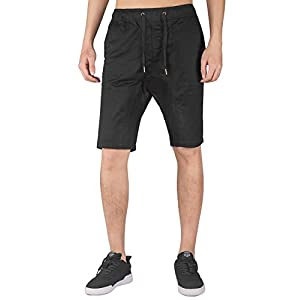 ITALY MORN Men's Chino Slim Fit Stretch Short