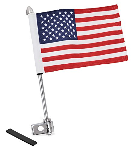 Show Chrome Accessories 4-248A Flag Pole (With 12