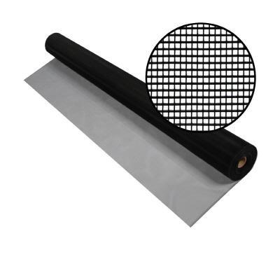 "Price comparison product image Phifer 3016855 Aluminum Screen Black Tube,  60"" x 100'"