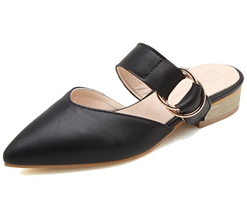 Noir Mules HiTime HiTime Mules Femme HiTime HiTime Femme Noir Mules Femme Femme Noir Noir Mules wqSx6Af