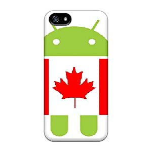 Excellent Design Canadian Droid Case Cover For Iphone 5/5s