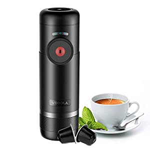 Espresso Machine Portable Automatic Boils Water 15 Bars Pressure One-Button Operation Travel Outdoor Coffee Maker