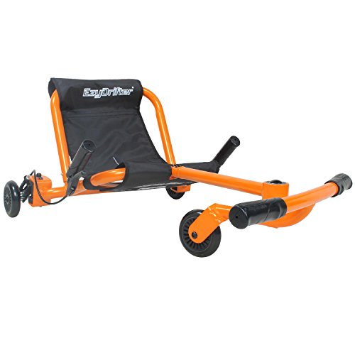 EzyRoller Drifter - Orange - Ride On for Children Ages 6+ Years Old - New Twist on Scooter - Kids Move and Drift Using Right-Left Leg Movements to Push Foot Bar - Fun Play and Exercise
