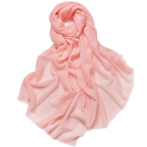 "ZORJAR Pure Cashmere Pashmina Scarf for Women Wraps Ultra Thin 27""x28"""