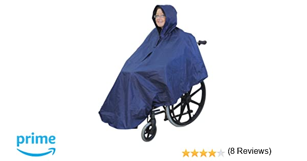 Aidapt - Poncho para silla de ruedas Universal (de IVA en el Reino Unido): Amazon.es: Salud y cuidado personal