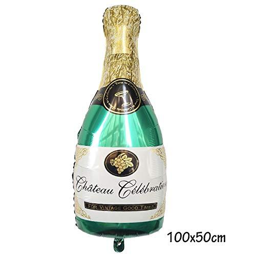 BAYUE Globos Botella Feliz 30a Fiesta de cumpleaños de la ...