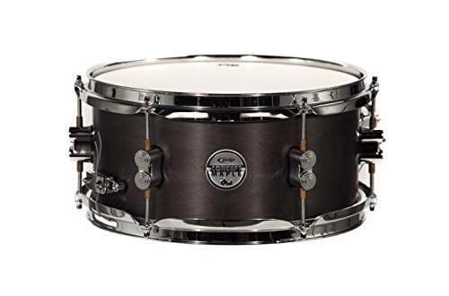 PDP By DW Black Wax Maple Snare Drum (Maple Piccolo Snare Drum)