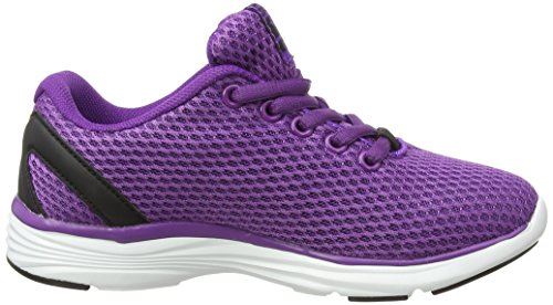 Gola Equinox - Zapatillas de running Niñas Morado (Purple/Black)