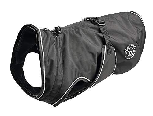 Cazador Uppsala - Abrigo para Perro, 70 cm, Color Negro