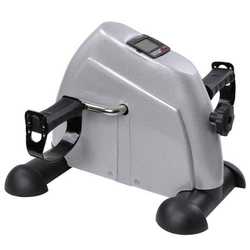 Unitech-Pedal-Exerciser-Portable-Arm-Leg-Mini-Exercise-Machine-Sliver