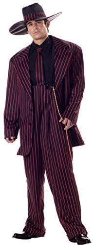Zoot Suit Gangster Pimp Mafia Adult Halloween Costume