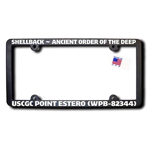 Shellback USCGC POINT ESTERO (WPB-82344) w/REFLECTIVE TEXT License - Point Estero