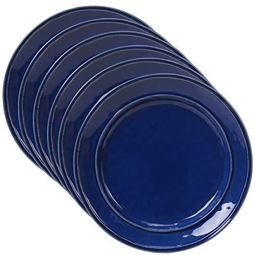 Certified International Corp 22876SET6 Orbit Cobalt Blue 9