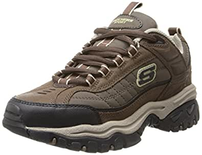 Skechers Men's Energy Downforce Lace-Up Sneaker,Brown Taupe,10 M US