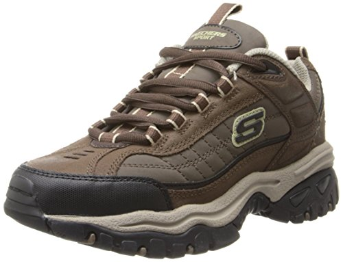Skechers Men's Energy Downforce Lace-Up Sneaker,Brown Taupe,12 2E US