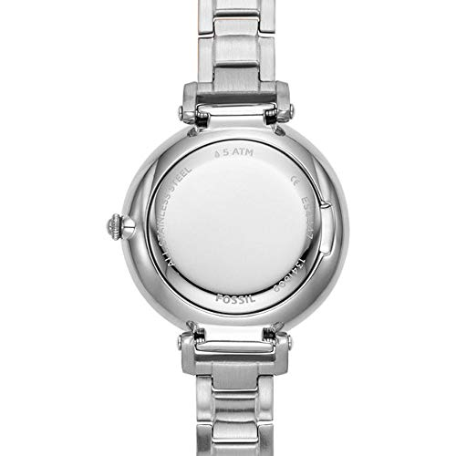 Fossil Kinsey Three-Hand Stainless Steel Watch (Stainless Steel(Stainless