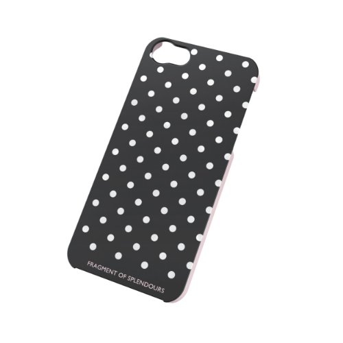 iPhone 5/5S Black Polka Dot Hard Case
