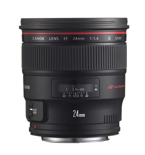 Canon EF 24mm f/1.4L II USM Wide Angle Lens - Fixed (Canon Ef 14mm F 2-8 Ii Usm Lens)