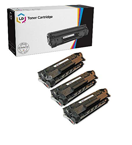 Compatible Replacements for HP Q2612A / 12A Set of 3 Black L