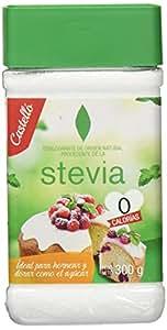 Castelló Since 1907 Edulcorante Stevia 1:1 - Paquete de 2 x 300 gr - Total: 600 gr