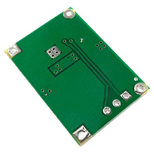 SODIAL(R) 1 pcs black + green metal TP5100 4.2v 8.4v single double lithium battery charge management lithium compatible 2A charging board 2.51.70.5cm