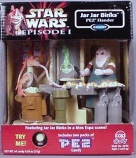 Jar Jar Binks Electronic Pez Dispenser – Star Wars
