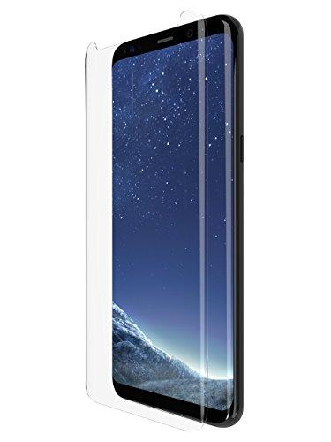 tech21 - Phone Case Compatible Samsung Galaxy S8+ Screen Protector - Impact Shield Anti-Scratch