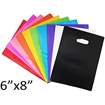 Amazon.com: Bolsas de plástico para fiestas, varios colores ...