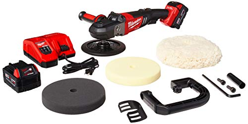 Milwaukee 2738-22P M18 Fuel 7 Variable Speed Polisher Kit w Pads