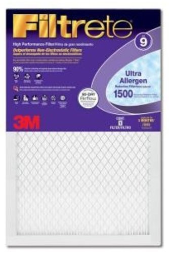 Filtrete Ultra Allergen Reduction Air Filter [Set of 6] Size: 30'' H x 16'' W x 1'' D by 3M