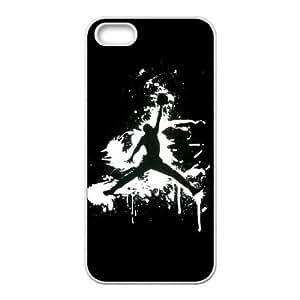 Jordan 91 marcas de plástico caso del iPhone 4 4S funda del teléfono celular funda funda caja del teléfono celular blanco cubre ALILIZHIA04693