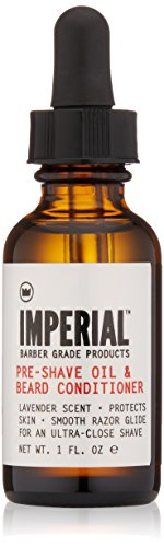Imperial Barber Pre-shave Oil & Beard Conditioner, 1 oz.