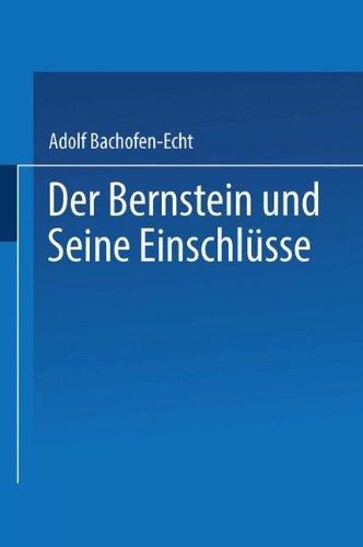 Der Bernstein und Seine Einschlsse (German Edition)