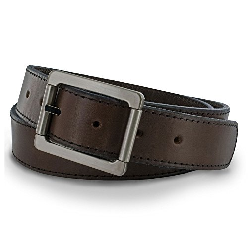 Hanks A2100 Double Roller Work Belt - Brown - Size - Brown Usa