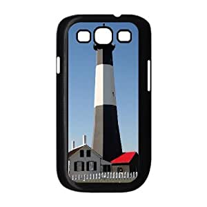 Lighthouse Series, Samsung Galaxy S3 Cases, Tybee Island Lighthouse Outside of Savannah Georgia Cases for Samsung Galaxy S3 [Black]