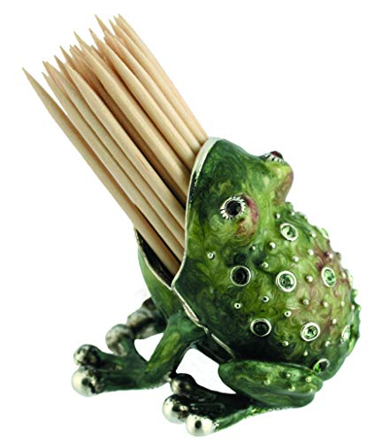 (Quest Collection Frog Toothpick Holder)