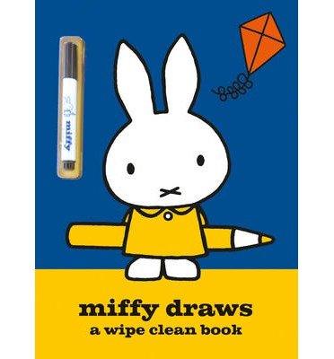 Miffy Draws : A Wipe Clean Book(Paperback) - 2014 Edition pdf epub
