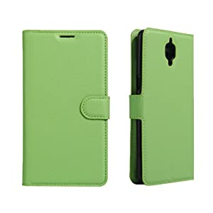 S9Q Premium Luxury Leather Flip Wallet Card Case Stand Cover For One Plus Three