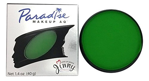 Mehron Paradise AMAZON GREEN - Face and Body Paint Pro Size 1.4 oz (Green Body Paint compare prices)