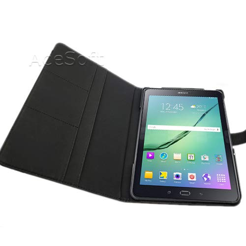 """Galaxy TAB S2 9.7 Case, Ultra Slim and Lightweight, Hard Shell, Slim Stand Cover Case for Samsung Galaxy Tab S2 9.7"""" SM-T817T T-Mobile Tablet (Black)"""